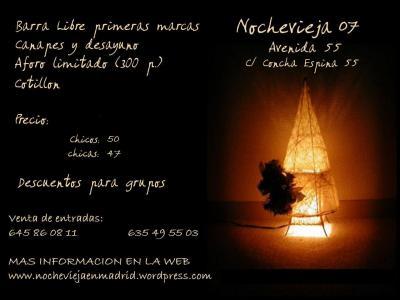 como será la mejor fiesta de nochevieja en madrid