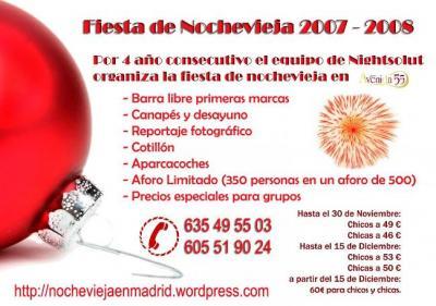 NOCHEVIEJA EN MADRID 2007-2008