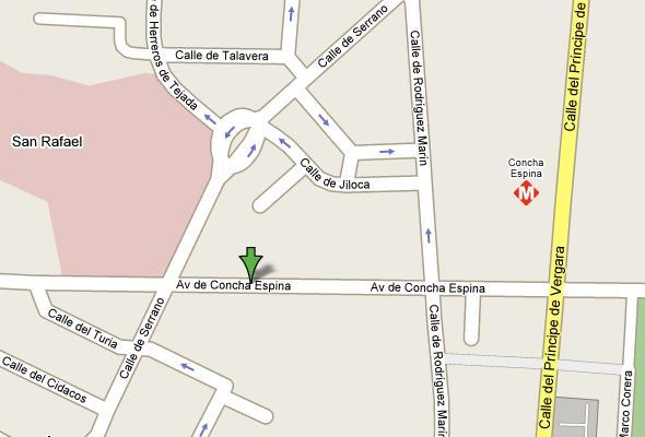 Ubicacion del local avenida 55